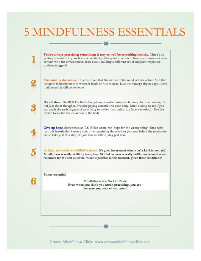 5 Essentials JPEG version for download